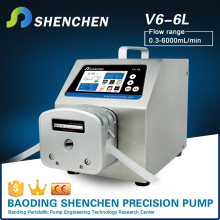 biogas analyzer peristaltic pump high flow rate