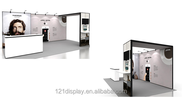 Exhibition Booth Price : China modular display booth exhibition with best price