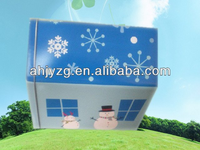 house shaped packing boxes and gift boxes