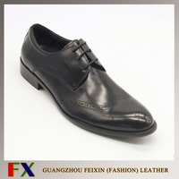 2016 Guangzhou Leather Shoes Factory Handmade