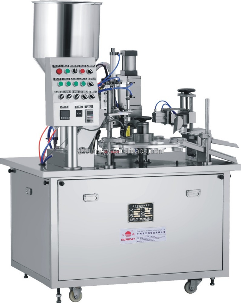 Small Cosmetic Tube Filling Sealing Machine