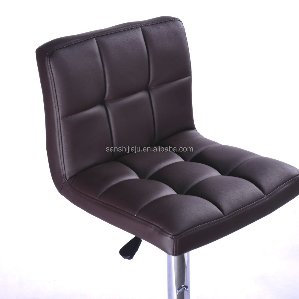 PU Leather Hydraulic Lift Adjustable Height Swivel Office Desk Chair
