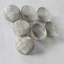 Wholesale customize stainless steel wire mesh filter cap / cone filter strainer / ss mesh filter basket