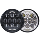 "Wholesale Driving 5.75"" led Lights 80W IP67 5.75 inch motorcycle Led Car headlight for harley"