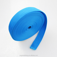 1 inch Durable and eco-friendly plaine webbing nylon strap for backpack belts