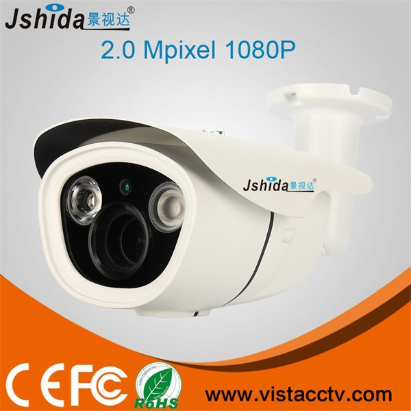 Factory Hot Sale Model 2.0MP ONVIF P2P IP Camera Waterproof IR Array LED 40M Day And Night Bullet Camera HD 1080P IP CCTV Camera