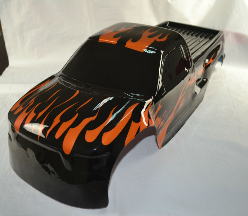 Printed body for 1/5 scale rc model car