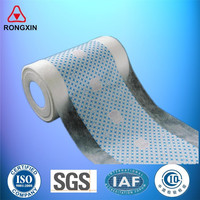 Ultra thin breathable lamination cloth like film materials for making baby diaper