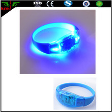 glow in the dark led silicone rubber bands watches for kids party decorations