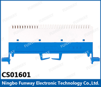 Clearly distinguish visual alarm circuit fixed type fiber optic patch panel