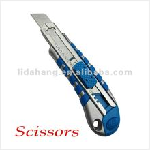 [ 2012 Newest ] High Quality Blue Plastic Sliding Utility Knife Blade LDH-A2005
