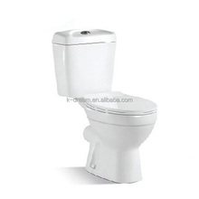 Cheap 2 piece bathroom water closet ivory toilet KD-T002TP