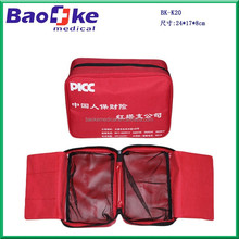 Cheap high quality generic first-aid kit can print logo/emergency medical bag