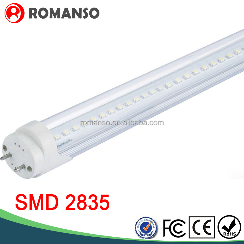 2400mm Led glass tube t8 led tube lights with the CE and the Rohs certificates