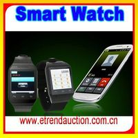 Smart ladies Watches Bluetooth Watch Cell Phone Android 4.2 Blue With mp4 mp3 Bluetooth