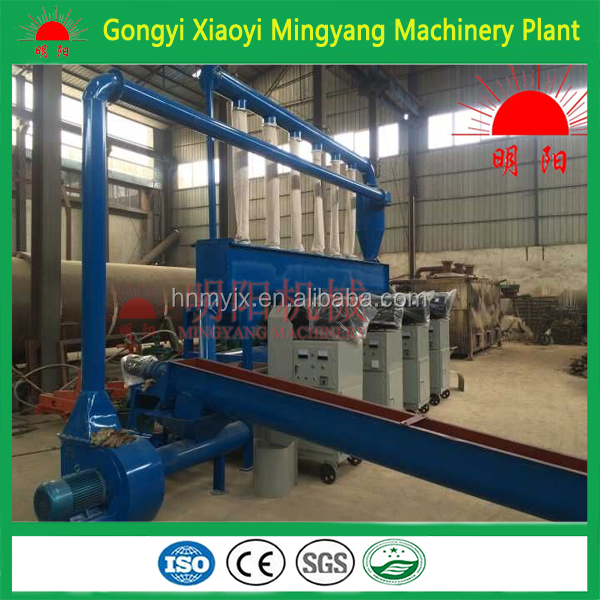 High pressure good quality CE approved peanut shell charcoal briquette making machine 008618937187735