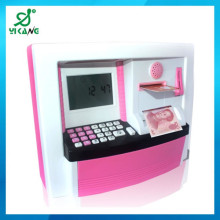 new atm bank toy large plastic piggy banks plastic coin saving box