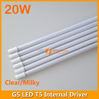 20W 1.5M T5 LED Tube with Internal Power Supply 180-265VAC