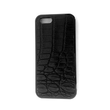 100% genuine crocodile leather phone case for iphone 5 5s crocodile case