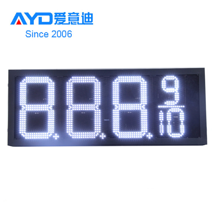 10inch 8.889 7 Segment LED Display Electronics LED Gas Price <strong>Sign</strong>