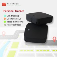 Hidden gps tracker for kids With SOS Call Function Smallest Size detector and Locator Thinkrace