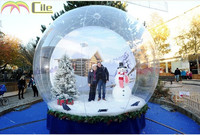 2015 the most beautiful christmas inflatable snow globe