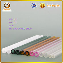 Wholesale high quality heat resisistant cutting pyrex glass tube(J-341)