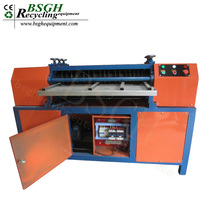 BS-1200P Used Radiator Copper Pipe And Aluminum Extrusion Machine Low Price AC Car Radiator Recycling Machine