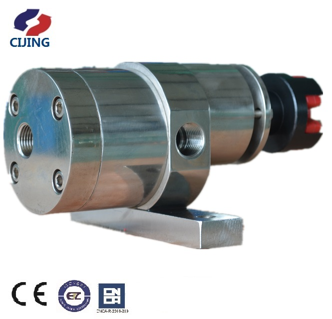 Melt gear pump for film blowing extrusion machine