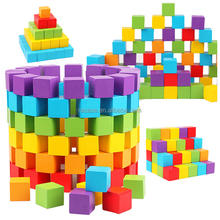 Building Blocks Wooden Toys Preschool Educational Early Learning Construction Set For Boys And Girls With Toy