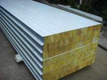 Thermal insulation rock mineral wool board for cleanroom partition
