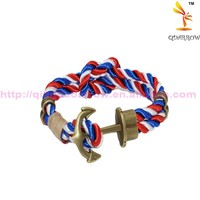 Leather Bracelet Men Stainless Steel Bangles