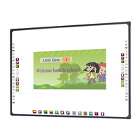 Chinese supplier white digital interactive projector writing board for school