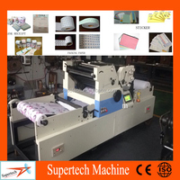 Hot Sale Intermittent Roll To Roll Paper Web Mini Offset Printing Machine