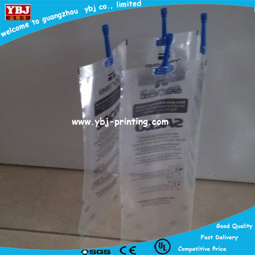 Top quality stand up spout pouch bag/stand up liquid, shampoo,laundry detergent,juice packing spout pouch