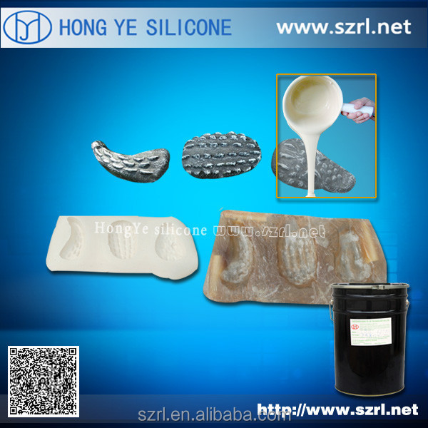 Mold Making Silicone Rubber for GRC fencing, grc artificial stones for garden decoration