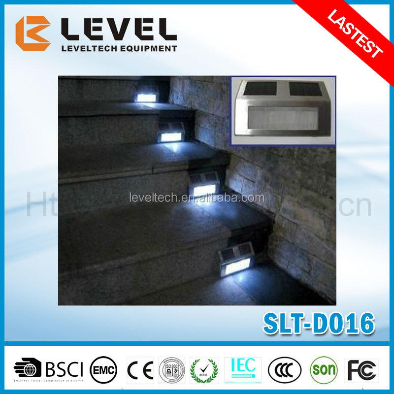Stainless Steel Solar Stair Sep Deck Wall Led Light With CE&ROHS Certificate