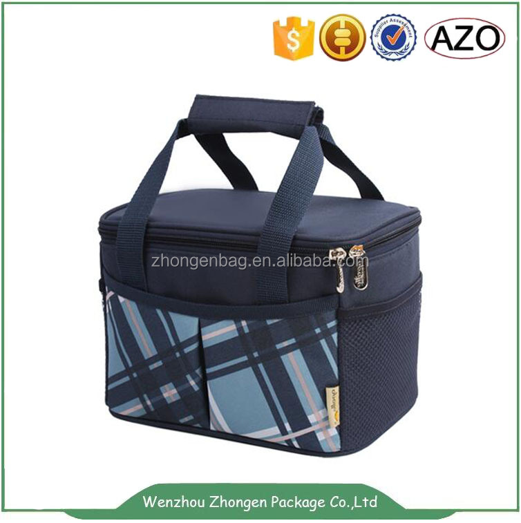 Promotional picnic lunch cooler bag for frozen food