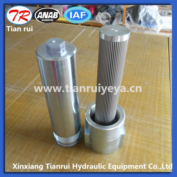 hydraulic in line oil filter housing for different pressure