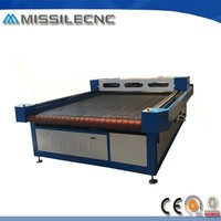 Made in China Automatic Feeding Worktable 1325 Laser Machine for Fabric Cutting