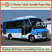 assembly line for mini bus and finished automobiles
