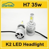 Auto headlight headlights led H7 on stock