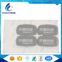China Screen Printing Adhesive Sticker Nameplate