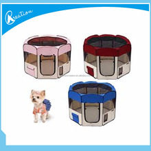 folding dog playpen and fabric pet playpen