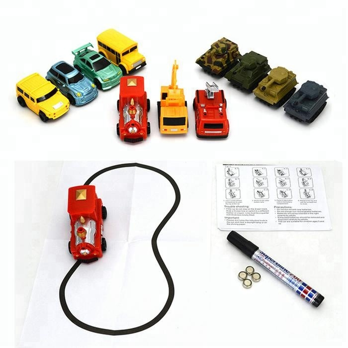 Hot selling inductive car toys for kids