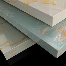 Nature stone colour luxurly jade veins The most beautiful&amp best quality china artificial marble paving stones snow