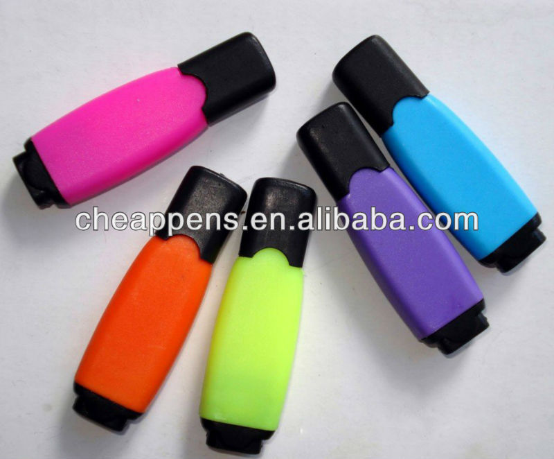 flat printed advertising cap mini fluorescent marker