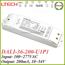 LTECH DALI-36-200-U1P1 200ma constant current dimmable led driver