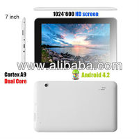 "7"" Dual core HD display Tablet PC"