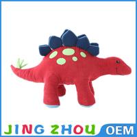 2015 Custom cute kids toy soft stuffed green big eyes dinosaur plush